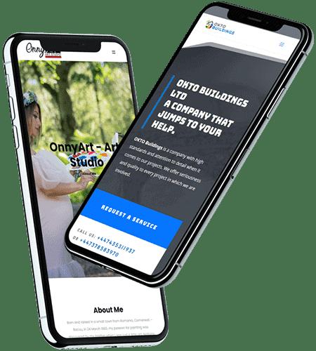 webdesign mobile online photoshop graphic